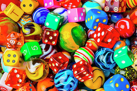 Dice And Marbles by Garry Gay