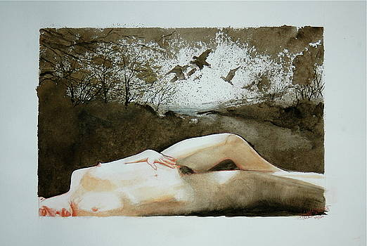 Die Rueckkunft des Traumvogels by HGW Schmidt