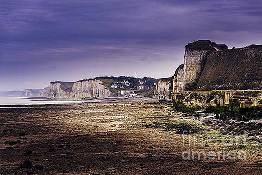 Dieppe Coastline by Tony Priestley