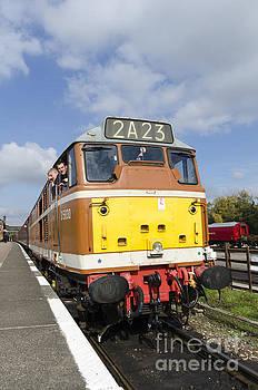 Diesel loco 5830 portrait by Steev Stamford