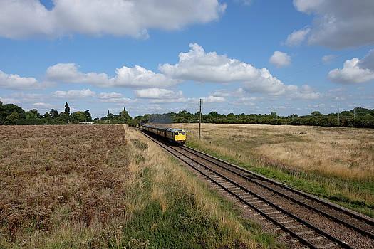 Diesel Train by Mark Severn