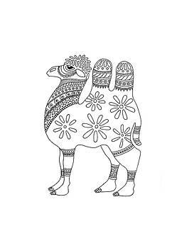 Difficult Camel by Sarah Rosedahl