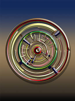 Digital Art Dial 4 by David Yocum