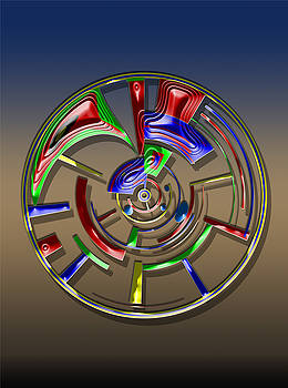 Digital Art Dial 6 by David Yocum