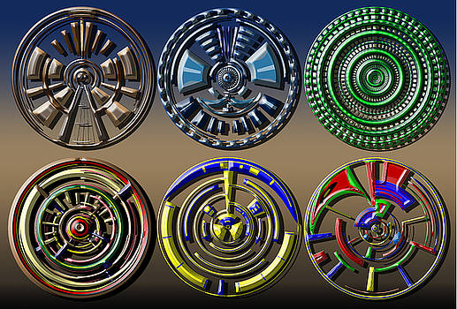Digital Art Dials by David Yocum