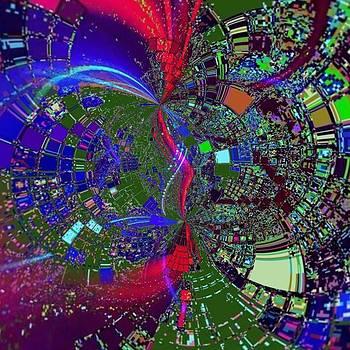 Digital cosmos by Marco De Mooy