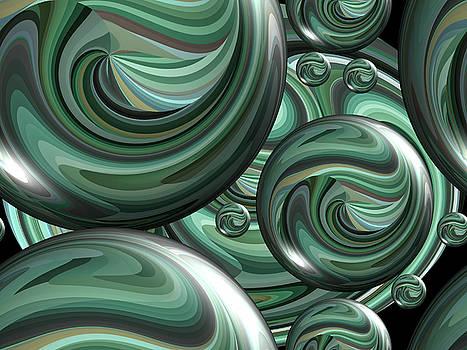 Digital Marbles by Kathy K McClellan
