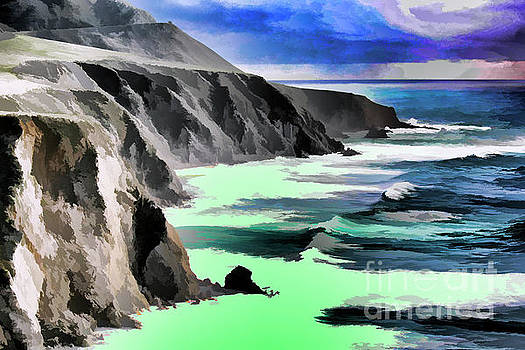 Chuck Kuhn - Digital Paint Big Sur California