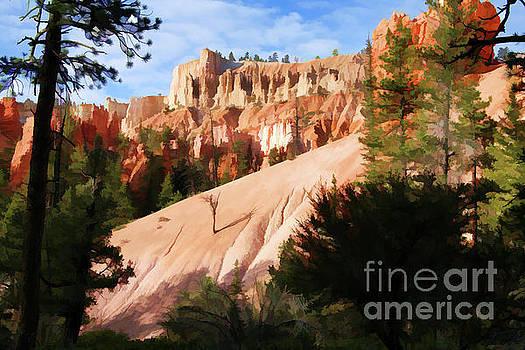 Chuck Kuhn - Digital Paint Bryce Canyon Utah