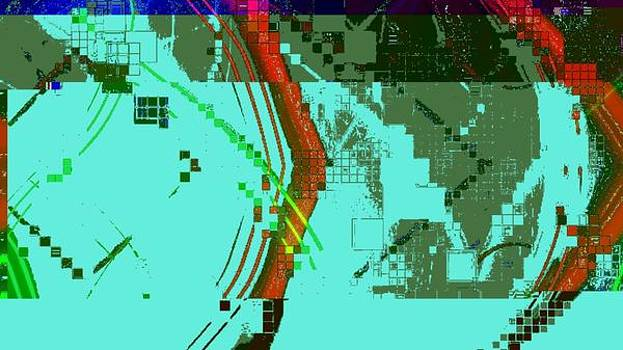 Digital tetris 2 by Marco De Mooy