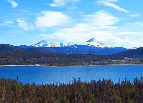 Dillon Reservoir by Sherry Vance