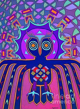 Dimensional Owl by Ed Tajchman