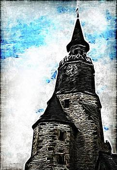 Joan  Minchak - Dinan Clock Tower