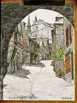 Dinan   France by SJV Jeffery-Swailes
