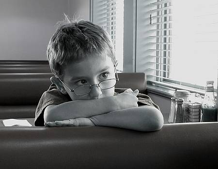 Diner Eavesdropping by KC Chapman