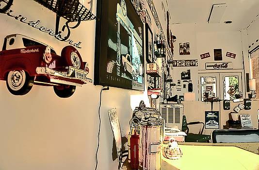 Diner Garage by Frank Garciarubio