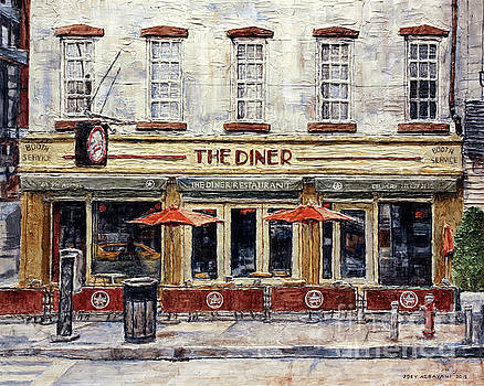 Diner On West 14th Street by Joey Agbayani