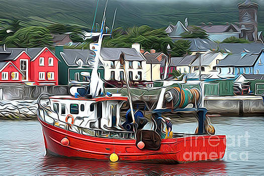 Dingle fishing boat by Andrew Michael