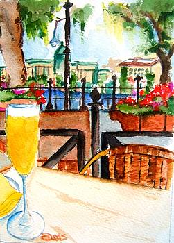 Dining On The Danube by Elaine Duras