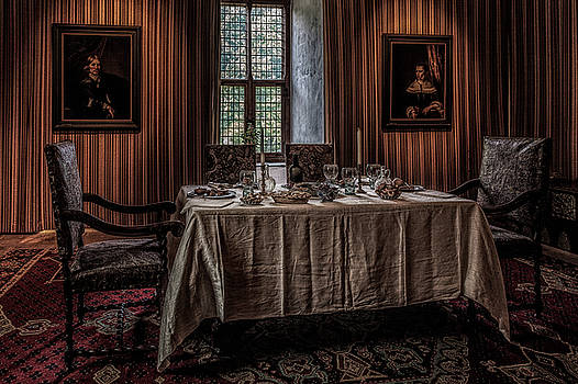 Dining room in castle Doorwerth by Tim Abeln