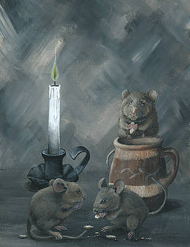 Dinner by Candlelight by Christine StPierre