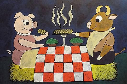 Dinner by Stefanie Beauregard