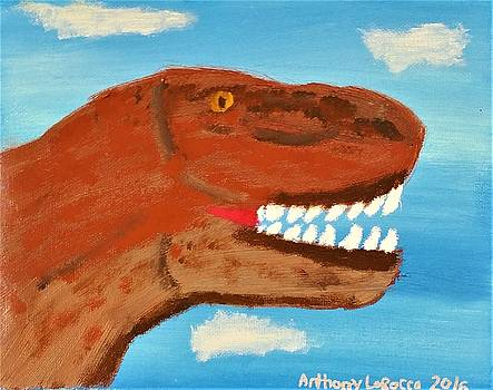 Artists With Autism Inc - Dino Face