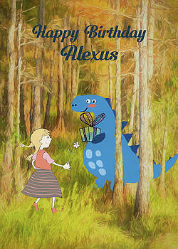 Dino Woods Birthday for Alexus by Rosalie Scanlon