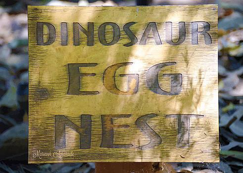 Dinosaur Egg Nest by Mariecor Agravante