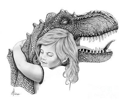 Dinosaur Hug by Murphy Elliott