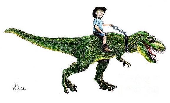 Dinosaur Rider by Murphy Elliott