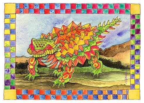 DinosaurB by Rose Gauss