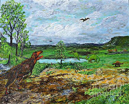 Dinosaurs by Richard Wandell