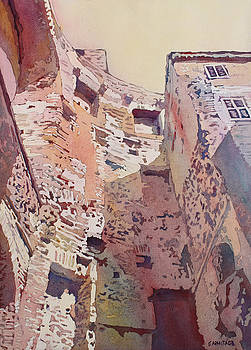 Jenny Armitage - Diocletian Courtyard