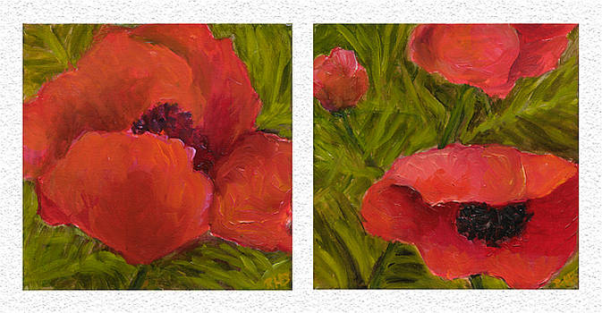 Diptych Sample by Rita Bentley