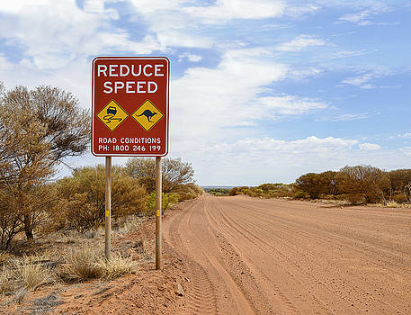 Dirt Road, Outback Australia by Vicki Vale