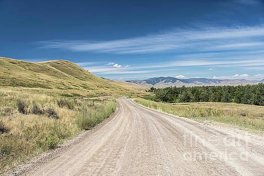 Dirt Road through Mountains by Jason Kolenda