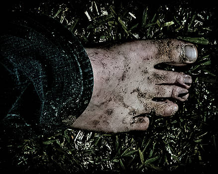 Dirty Foot by Philip A Swiderski Jr