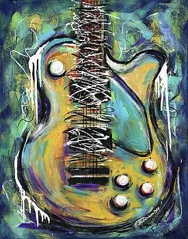Dirty Notes Guitar by Elena Feliciano