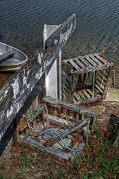 Discarded Lobster Traps by Richard Hinds