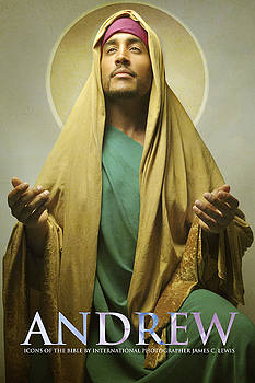 Disciple Andrew by Icons Of The Bible