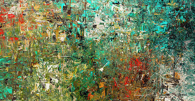Discovery - Abstract Art by Carmen Guedez