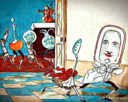 Dish Ran Away With The Spoon by Pennie McCracken