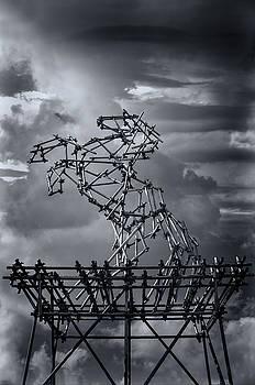 Dismaland Steel Horse by Jason Green