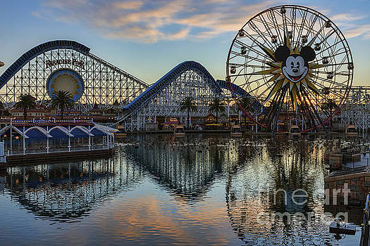 Disney California Adventure Reflections by Eddie Yerkish