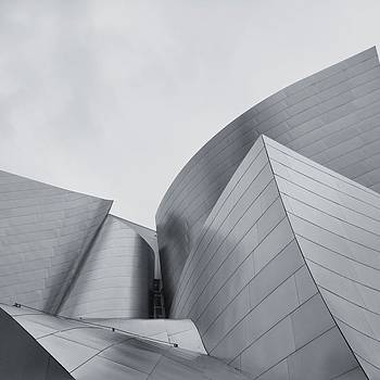 Disney Concert Hall In Los Angeles Is by Sean Kalimi