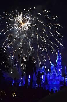 Disneyland by Fireworks by Alex King