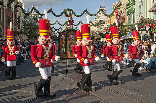 Disney  Toy Soldiers on Parade by Charles  Ridgway