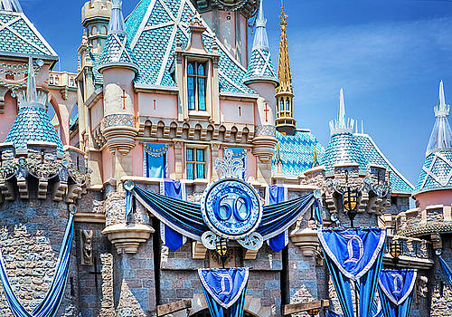 Disneyland Sleeping Beauty Castle 60th - May 28, 2015 by Todd Young