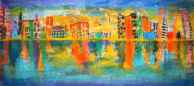 Distant City by Adekunle Ogunade